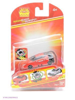 Игрушка Voov Honda CR-Z - Полицейский автомобиль Bandai. Цвет: красный