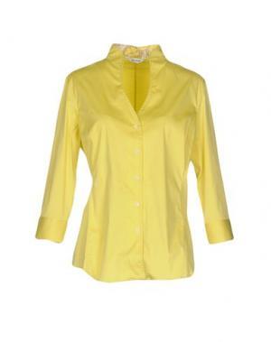 Pубашка CALIBAN. Цвет: желтый