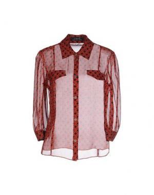 Pубашка KRISTINA TI. Цвет: красный