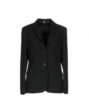 Пиджак N_8. Цвет: стальной серый
