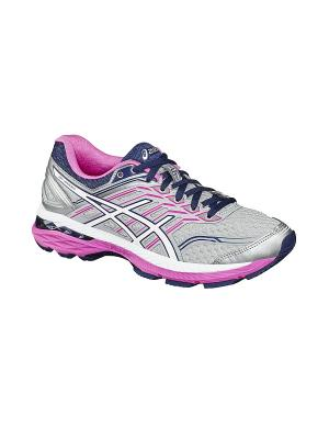 Спортивная обувь GT-2000 5 (2A) ASICS. Цвет: серый, белый, розовый