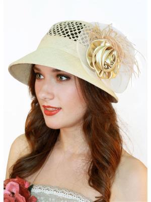 Шляпа Сиринга. Цвет: темно-бежевый