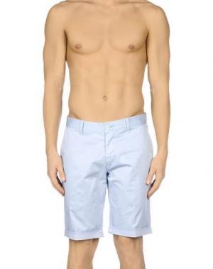 Пляжные брюки и шорты BAGUTTA. Цвет: небесно-голубой