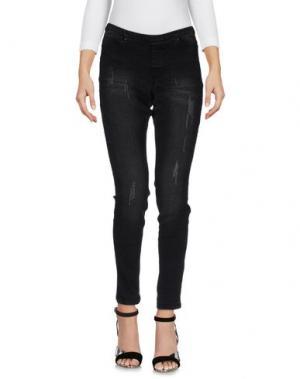Джинсовые брюки SISI. Цвет: черный