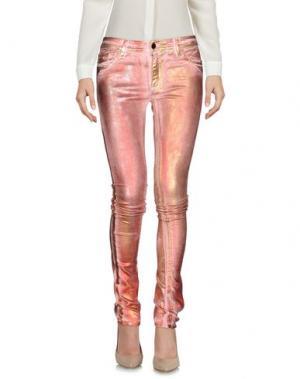 Повседневные брюки 75 FAUBOURG. Цвет: розовый