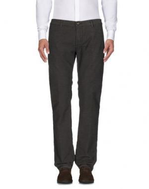 Повседневные брюки RICHARD JAMES BROWN. Цвет: темно-коричневый