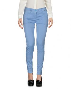 Повседневные брюки MASSIMO REBECCHI. Цвет: небесно-голубой