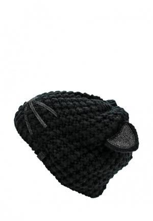 Шапка Karl Lagerfeld. Цвет: черный