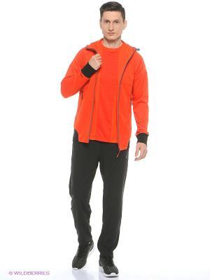 Толстовка Full Zip Hoodie ASICS. Цвет: оранжевый