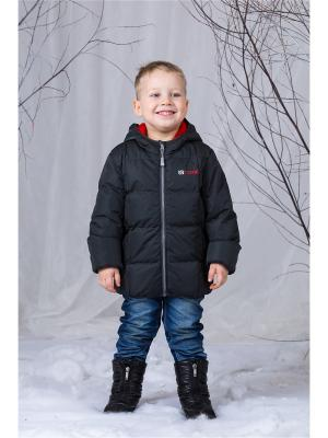 Куртка NANO. Цвет: темно-серый, фуксия
