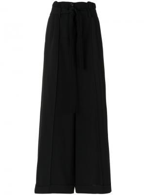 Wide leg trousers Gloria Coelho. Цвет: чёрный