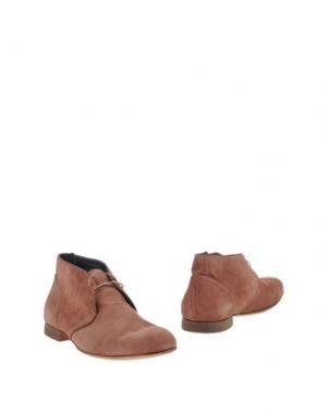 Полусапоги и высокие ботинки ALBERTO GUARDIANI. Цвет: пастельно-розовый