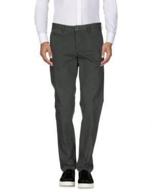 Повседневные брюки JAGGY. Цвет: серый