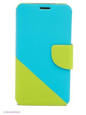 Чехол для Samsung S5 WB. Цвет: голубой, зеленый