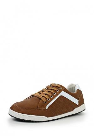 Кеды WS Shoes. Цвет: коричневый