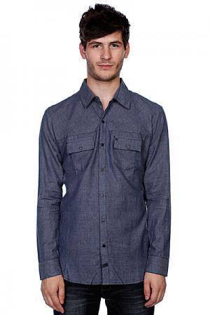 Рубашка  Sixpack Navy Krew. Цвет: серый