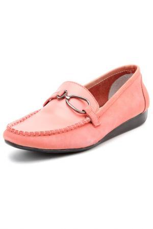 Мокасины CAPTOR. Цвет: розовый
