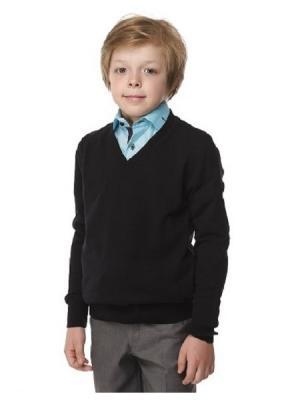 Пуловер HERDAL. Цвет: синий