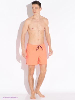 Плавки Tommy Hilfiger. Цвет: оранжевый
