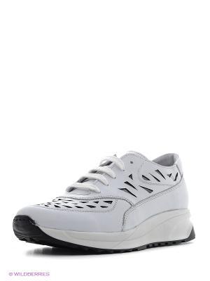 Ботинки PIRANHA. Цвет: белый