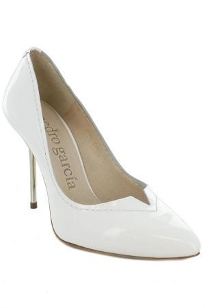 Туфли Pedro Garcia. Цвет: белый