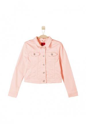 Куртка s.Oliver. Цвет: коралловый