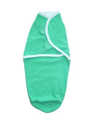 Пеленка на липучках Дашенька. Цвет: зеленый