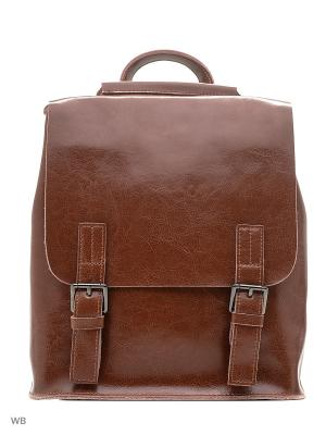 Рюкзак Elite Style. Цвет: рыжий