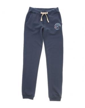 Повседневные брюки MARVEL. Цвет: грифельно-синий