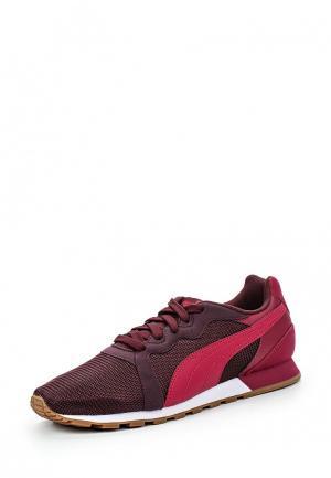 Кроссовки Puma. Цвет: бордовый