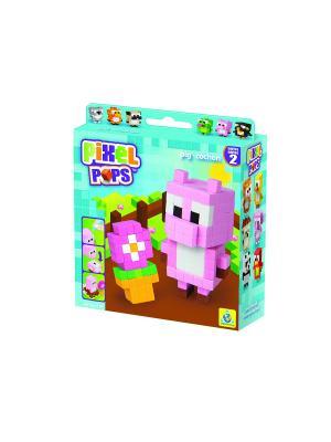 The ORB Factory. Pixel Pops Игрушка Поросенок factory. Цвет: розовый, голубой, коричневый