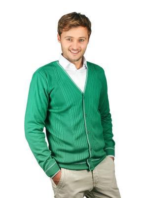 Кардиган GREG. Цвет: зеленый
