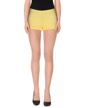 Повседневные шорты LA CAMICIA BIANCA. Цвет: желтый