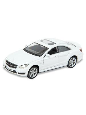 Машина металлическая Mercedes-Benz CLS 63 AMG, 1:32. HOFFMANN. Цвет: белый