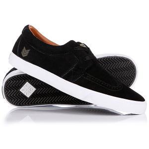 Кеды кроссовки низкие  Patriot Black VOX. Цвет: черный