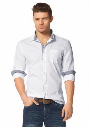 Рубашка JOHN DEVIN. Цвет: белый