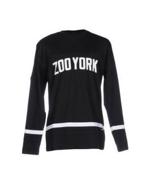 Футболка ZOO YORK. Цвет: черный