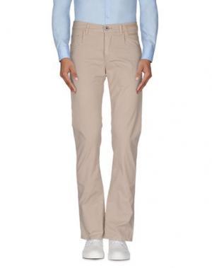 Повседневные брюки CAMOUFLAGE AR AND J.. Цвет: верблюжий
