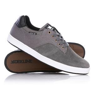 Кеды кроссовки низкие  Dalton Pewter/Black Dekline. Цвет: серый
