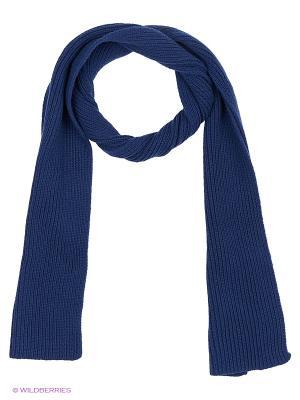 Шарф United Colors of Benetton. Цвет: темно-синий, темно-фиолетовый