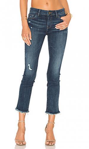 Укороченные джинсы mara DL1961. Цвет: none