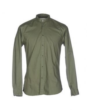 Pубашка ..,BEAUCOUP. Цвет: зеленый-милитари