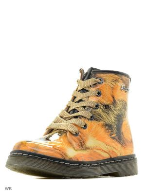 Ботинки Indigo kids. Цвет: бежевый