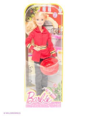 Кукла из серии Профессии Barbie. Цвет: красный