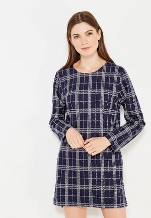Платье H:Connect. Цвет: синий
