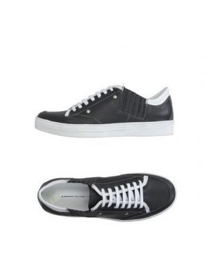 Низкие кеды и кроссовки ALESSANDRO DELL'ACQUA. Цвет: стальной серый