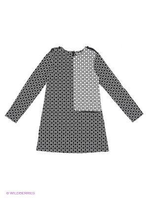 Платье LEMUR. Цвет: черный, белый