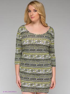 Платье New Look. Цвет: белый, черный, желтый