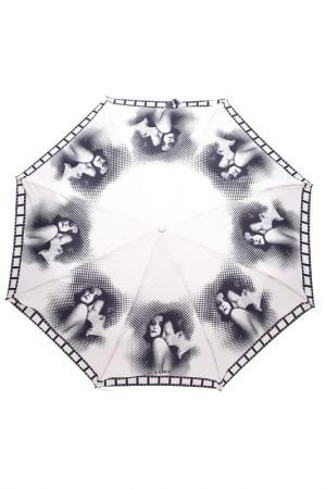 Зонт Jean Paul Gaultier. Цвет: белый