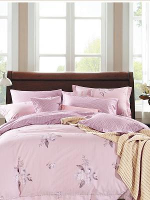 Комплект постельного белья ROMEO AND JULIET. Цвет: бледно-розовый, розовый